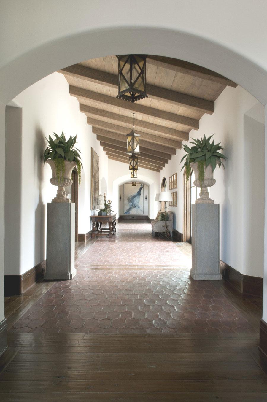 Foyer of Villa Della Costa