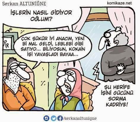 torbacı karikatürü