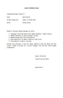 Contoh Surat Pernyataan Larmaran Pekerjaan