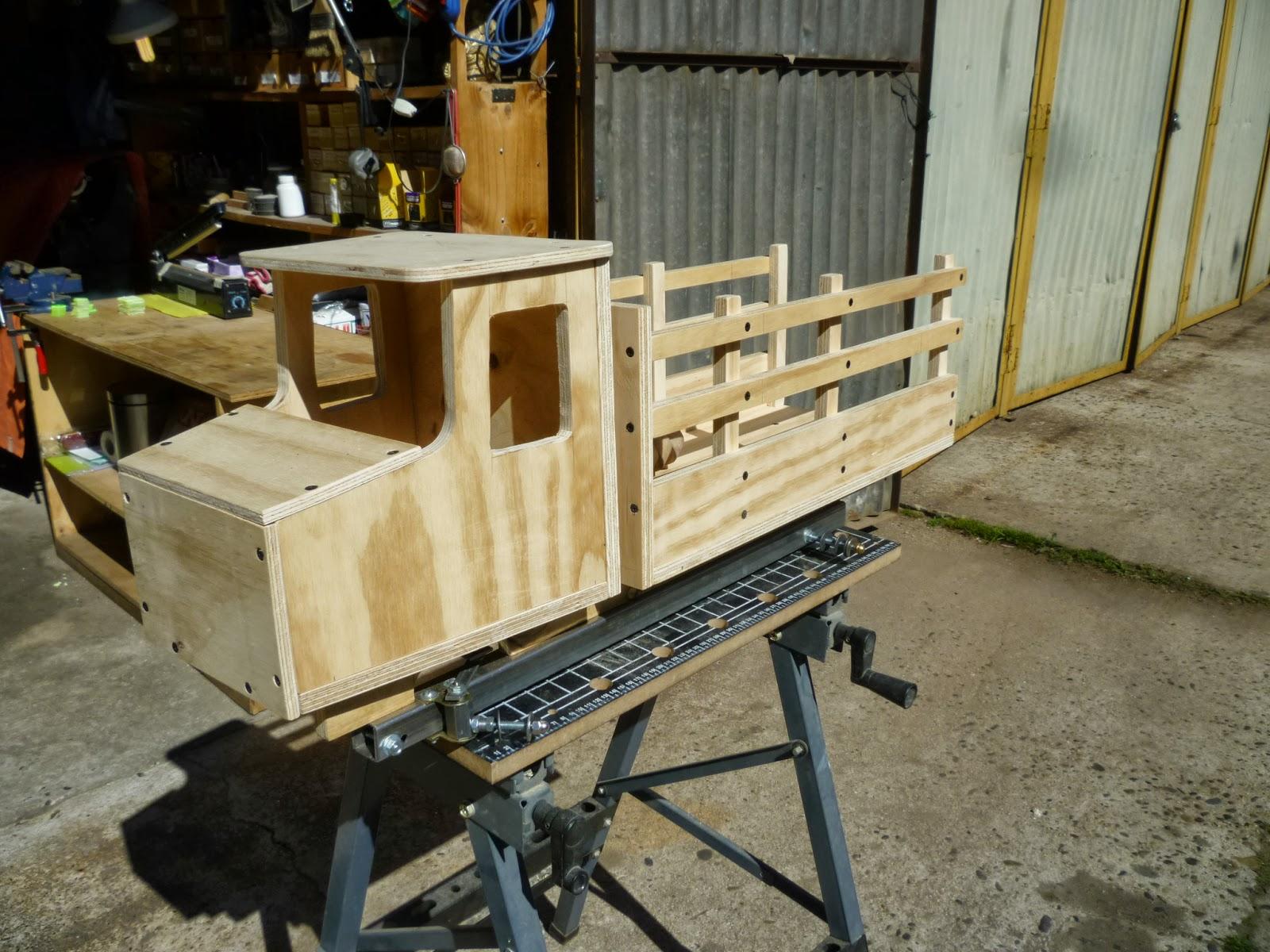 Trabajos Manuales Camion De Madera - Trabajos-manuales-en-madera
