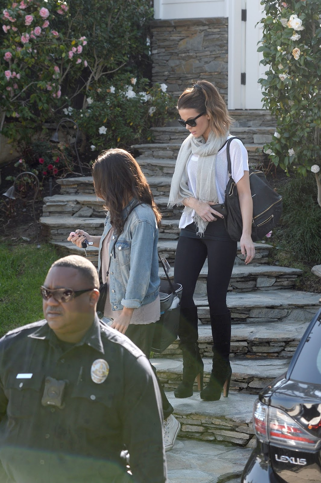 Kate Beckinsale - is on the Mend Following a Hospitalization in Los Angeles - 01/30/2019