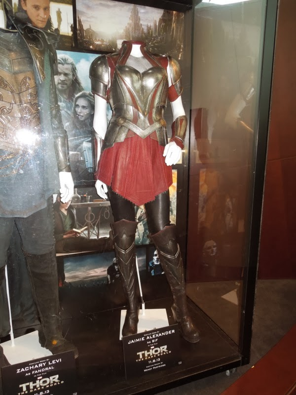 Original Sif movie costume Thor Dark World