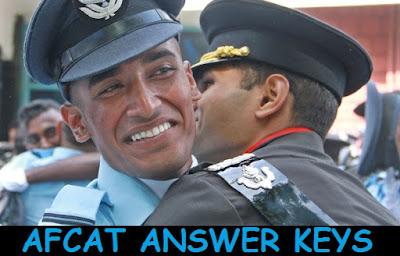 AFCAT 1 2016 Answer Keys - SET D