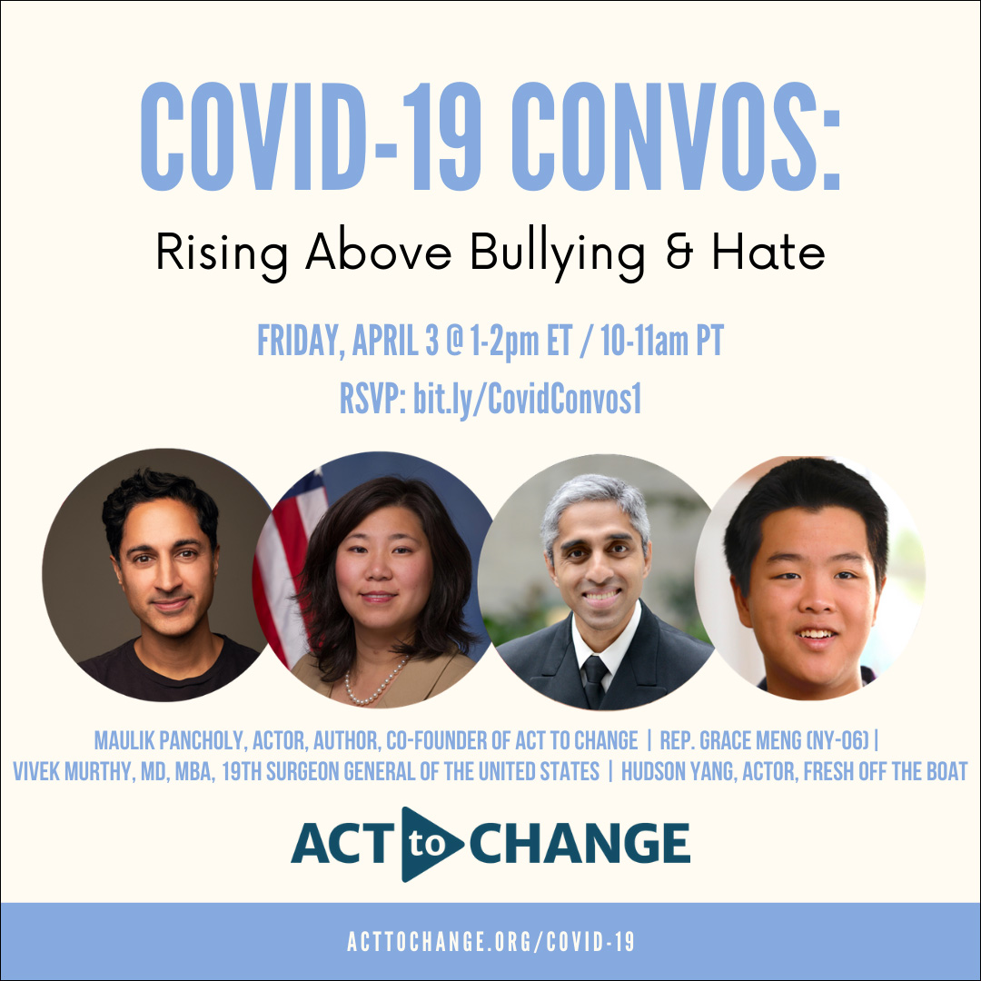 Join the Conversation on COVID-19 Bullying and Hate