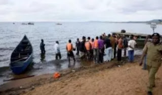At about 30 people have been confirmed dead after a cruise boat carrying party revellers capsized on Lake Victoria.