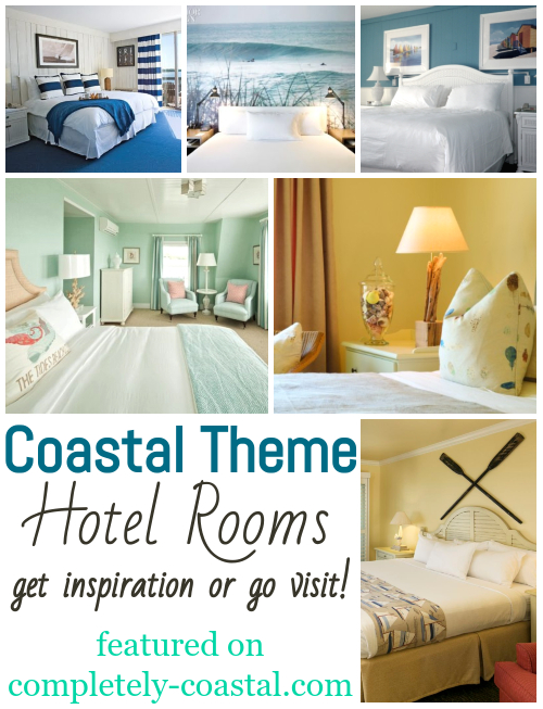 Coastal Theme Hotel Bed Rooms