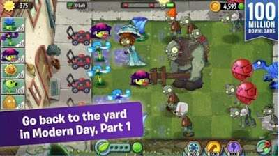 Plants Vs Zombies 2 Mod Apk + Data Terbaru