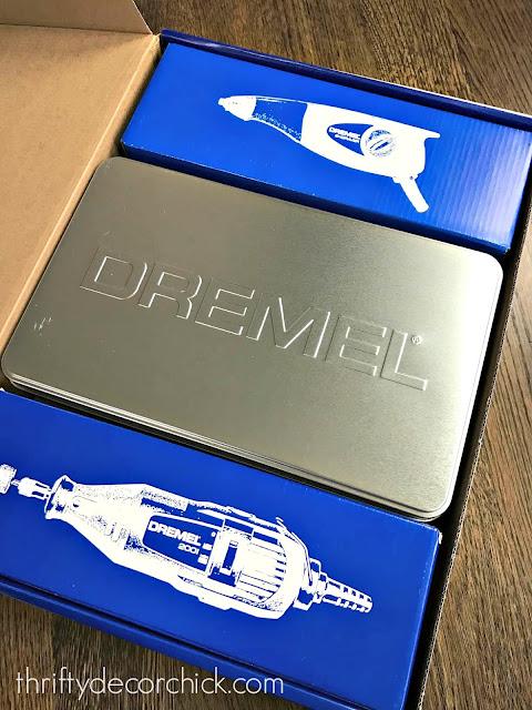 Dremel three piece tool set