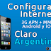 Como Configurar el Internet 3G APN + MMS en Android/iOS Claro Argentina 2018