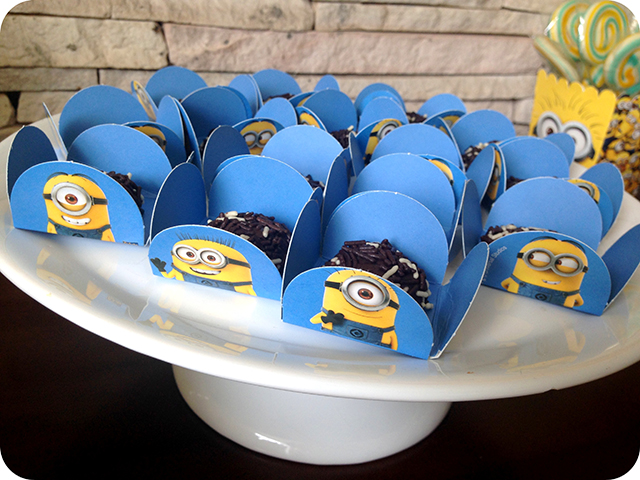 Decoração Festa dos Minions : Formas de Doces da Festcolor