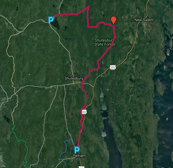 Along the New England Trail: MA NET Sections 12-14 Quabbin Part 1 on