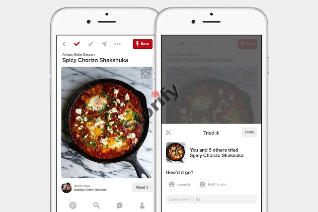 Pinterest yeni özellikleri 2017