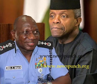 Osinabo and Police IG, Ibrahim Idris