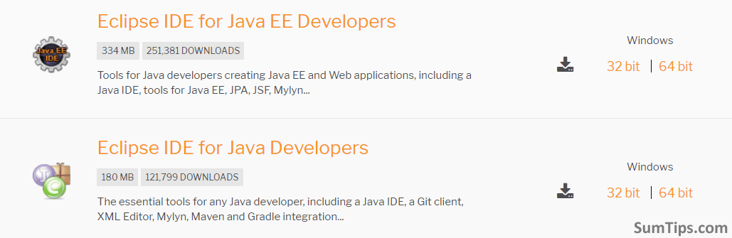 Download JEE Developers