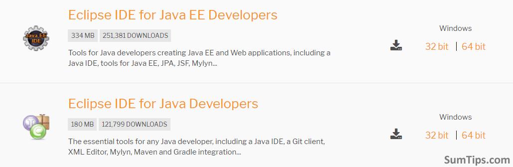 Download JEE Developers