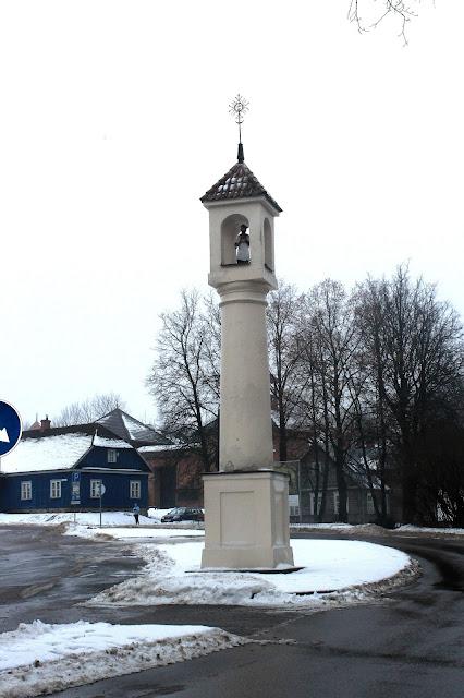 Troki - kapliczka św. Jana Nepomucena