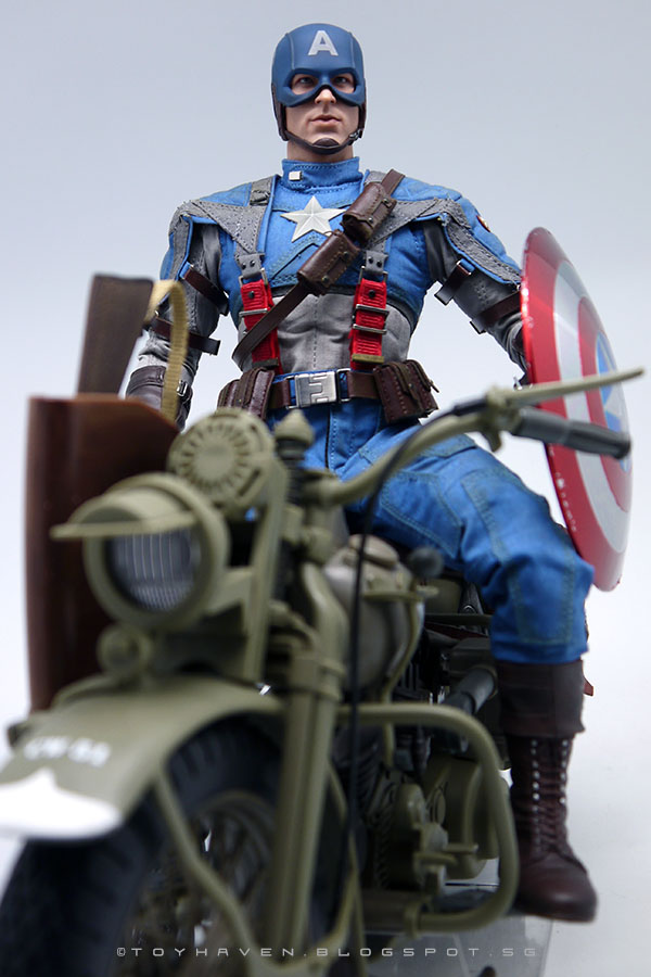 Captain America Wwii Army Jeep
