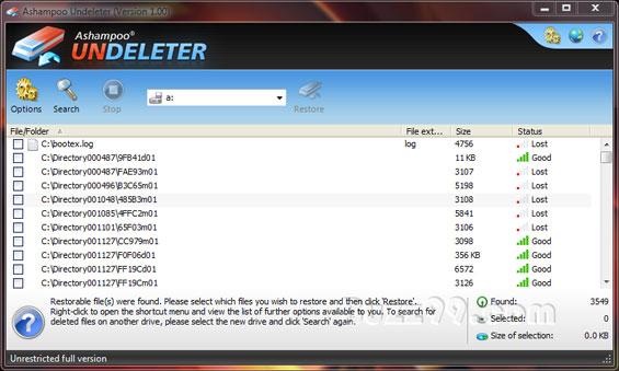 تحميل برنامج استعادة الملفات المحذوفة كامل Ashampoo Undeleter 2018 برامج العرب تحميل برامج مجانية