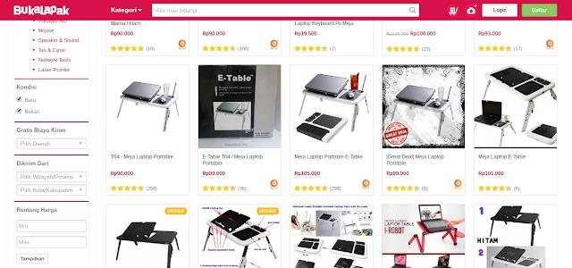 Meja Lipat Laptop Dengan 5 Fitur Unggulan