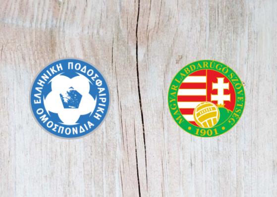 Greece vs Hungary - Highlights 12 October 2018