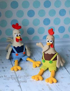 описание мастер-класс pattern crochet toy