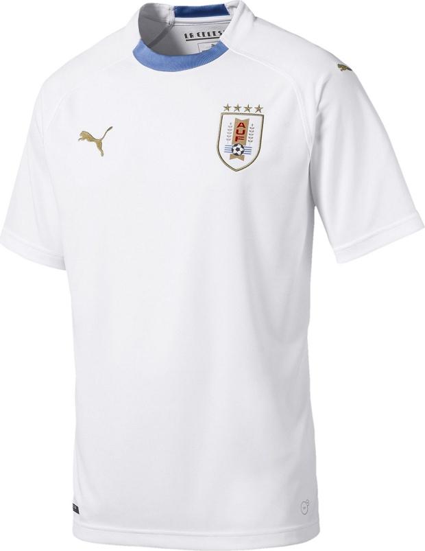 Puma lança a camisa reserva do Uruguai para a Copa do Mundo - Show ... f1ea1733a6ad4