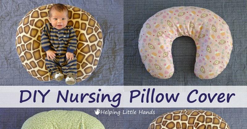 Pieces By Polly Diy Nursing Pillow Cover