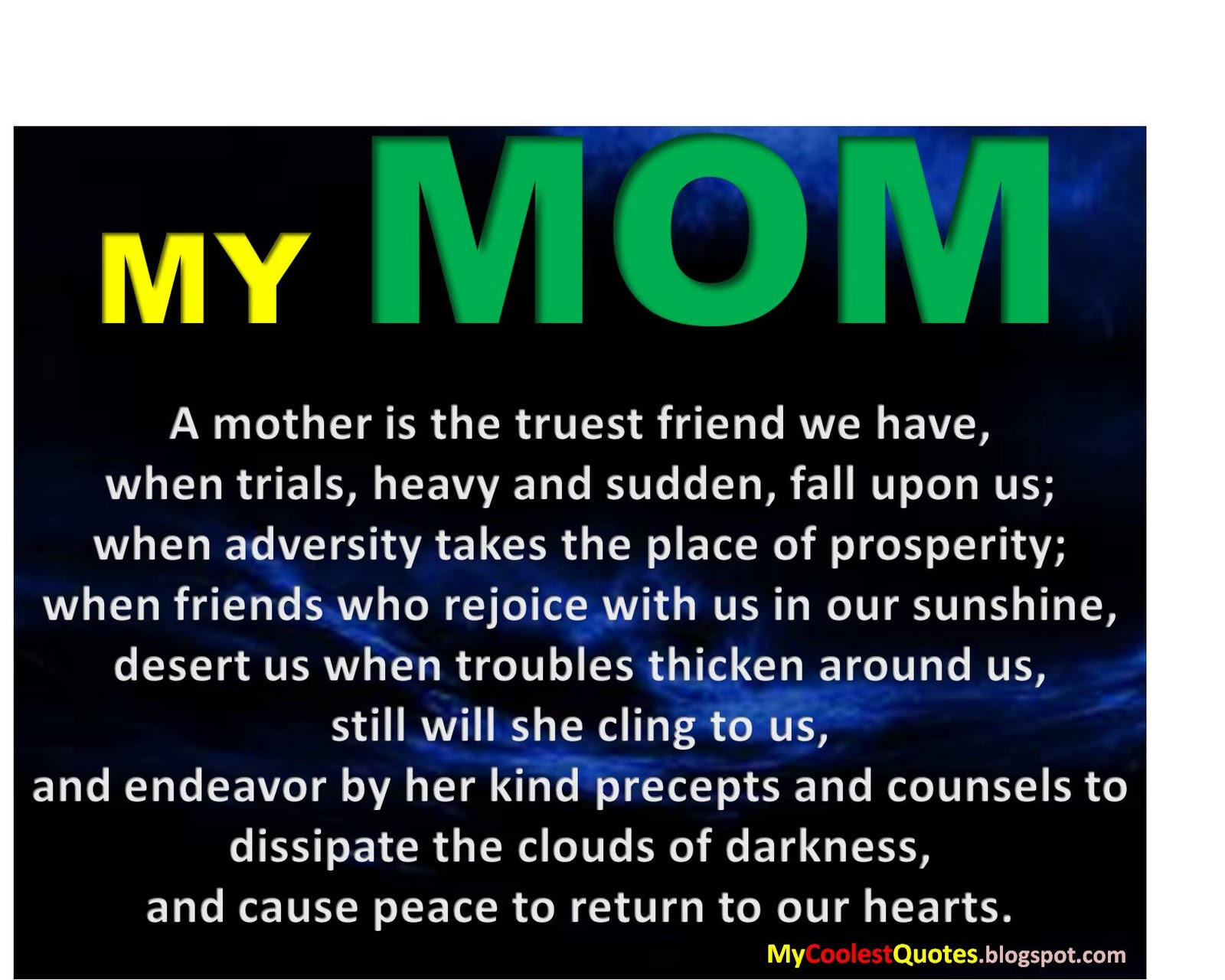 Mom Quotes: Loving Mother Quotes From Daughter