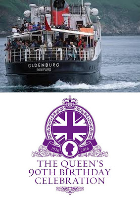 The Queen's 90th Birthday Cruise in aid of Northam Lodge