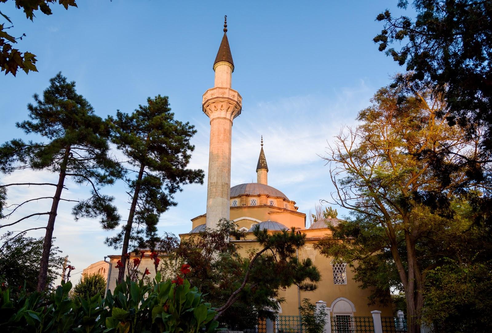 Мечеть Джума-Джами. Крым. Евпатория