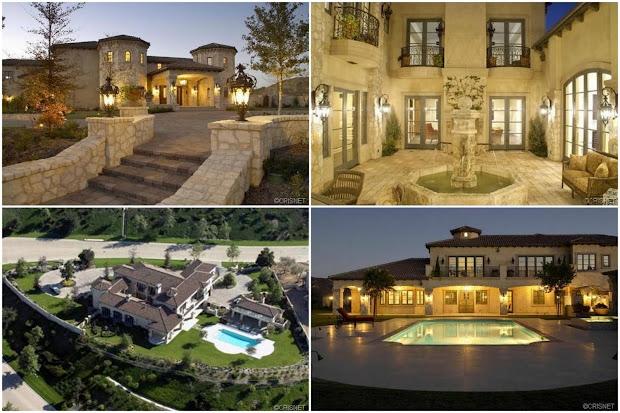 Celebrity Homes Real Estate Britney Spears Rental In Calabasas