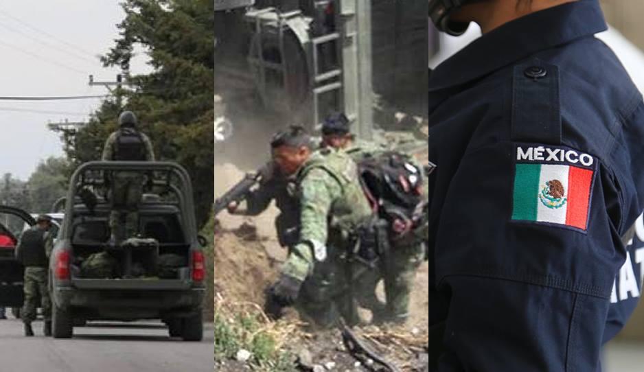 ¡Se armó otra balacera! Militares y Policía Estatal contra huachicoleros en Palmar