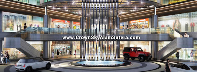 Commercial Area Crown Sky Alam Sutera