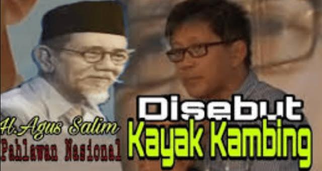 Rocky Gerung Dilaporkan Menghina Agus Salim, Polisi : Akan Kami Tindaklanjuti Sesuai Prosedur