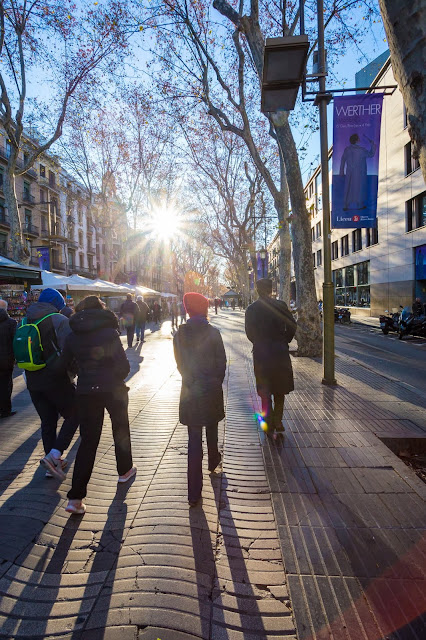 Las Ramblas Barcelona by Laurence Norah