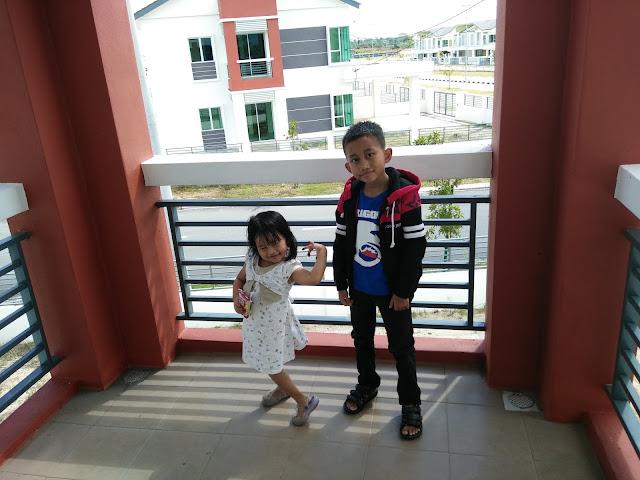 Balkoni Homestay di Seri Iskandar Perak