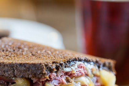 Corned Beef Grilled Cheese