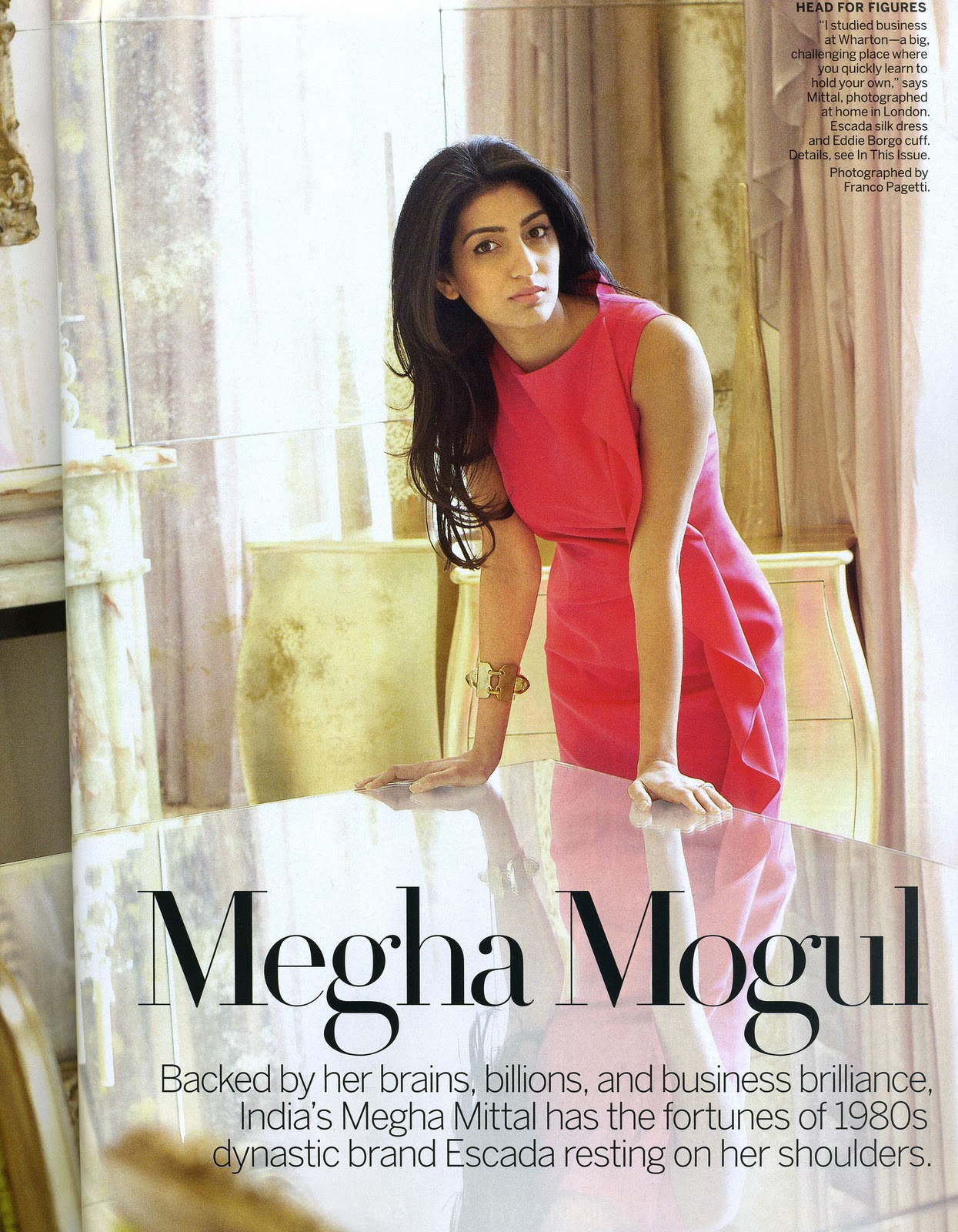Megha Mittal Puts The Midas Touch On Escada