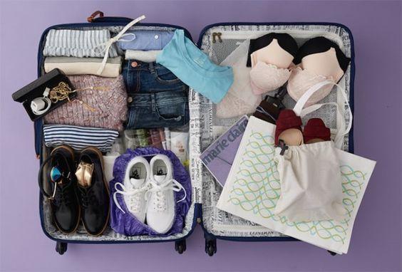 #12 - Dica: Organizando Mala de Viagem