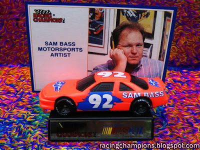 Sam Bass #92 Racing Champions 1/64 NASCAR diecast blog age