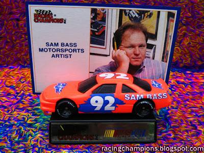 Sam Bass #92 Racing Champions 1/64 NASCAR diecast blog age