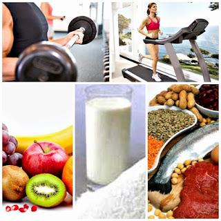 Alimentos antes y después de entrenar
