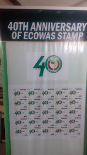 40th Anniversary of ECOWAS Stamp