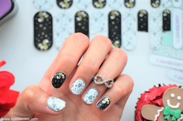 best monochrome jamberry nail wrap
