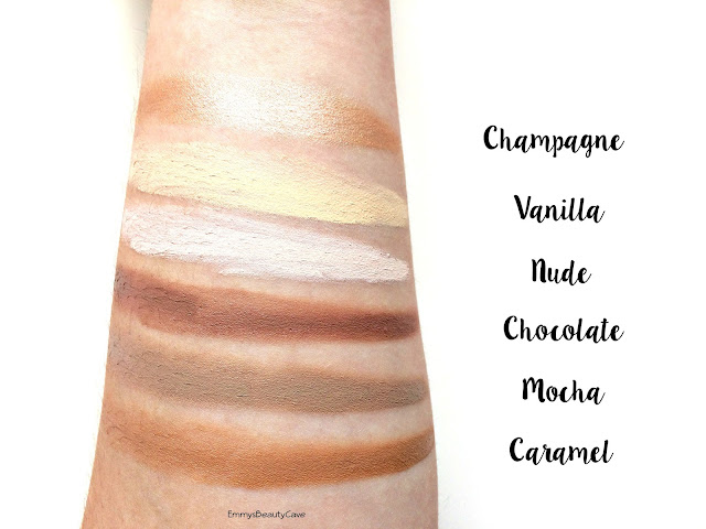 Beautiful Brows Contour Palette Swatches