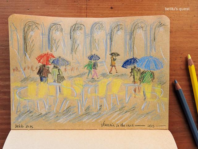 Piove molto by betitu