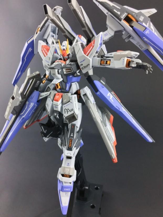 Custom Build: HGBF 1/144 Amazing Strike Freedom Gundam ...