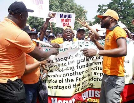 ANTI MAGU PROTEST