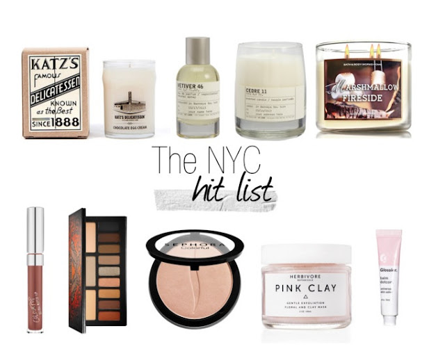 New York Beauty Wish List