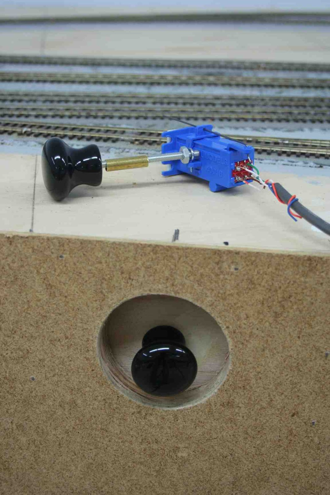 small resolution of southern pacific cascade line switch linkages track switch machine blue point switch machine wiring